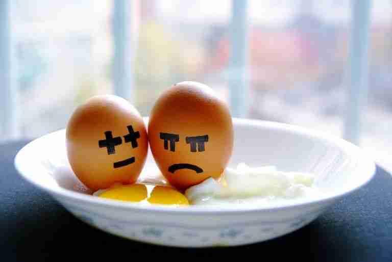 13. La cosa va de huevos