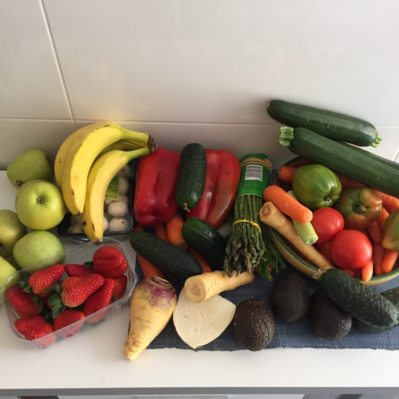 ¡Come más verduras, frutas y hortalizas!