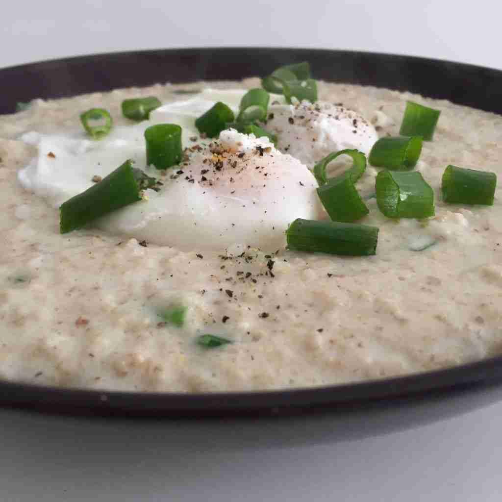 porridge queso cabra
