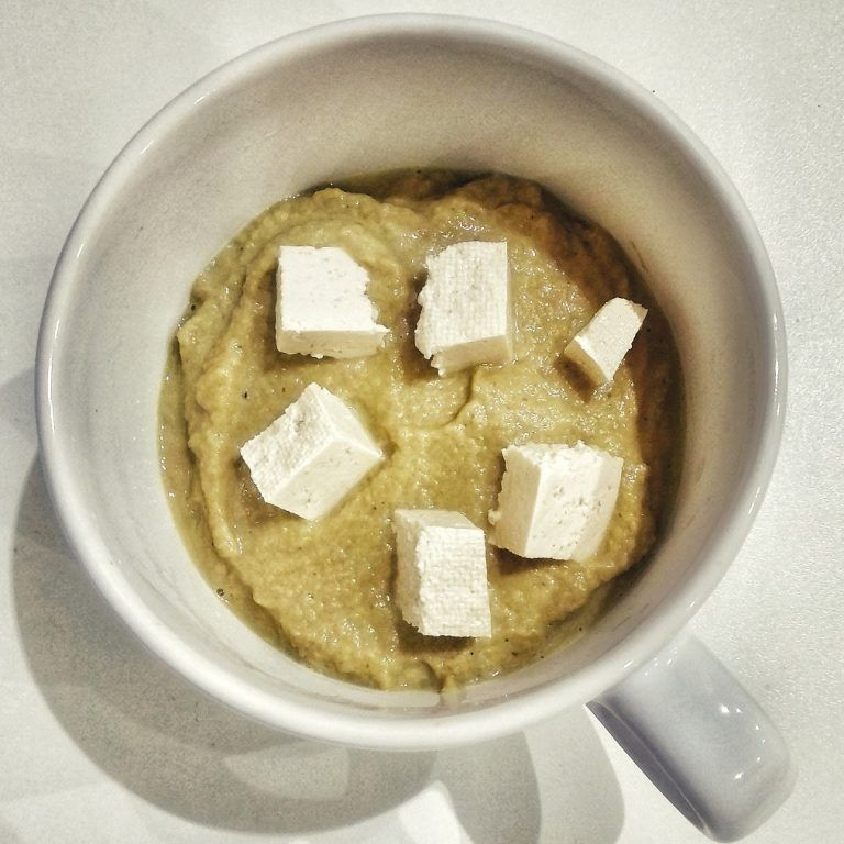 Crema de champiñones al curry con Thermomix