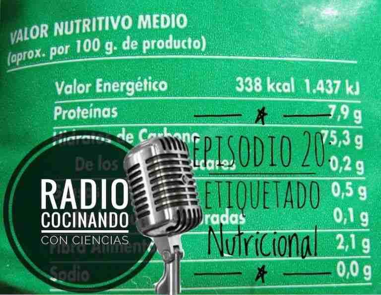 20. Etiquetado nutricional