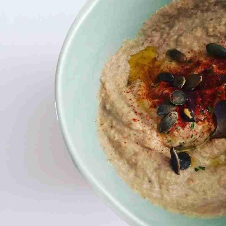 Hummus de berenjena