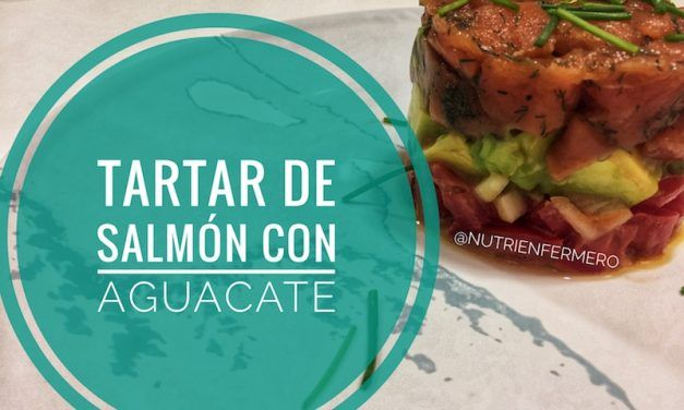 Vídeo-receta de tartar de salmón salvaje con aguacate