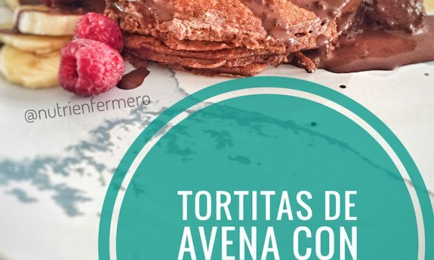 Vídeo-receta de tortitas de avena con manzana