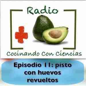 Episodio 11 de la radio de cocinando con ciencias: pisto con huevos revueltos