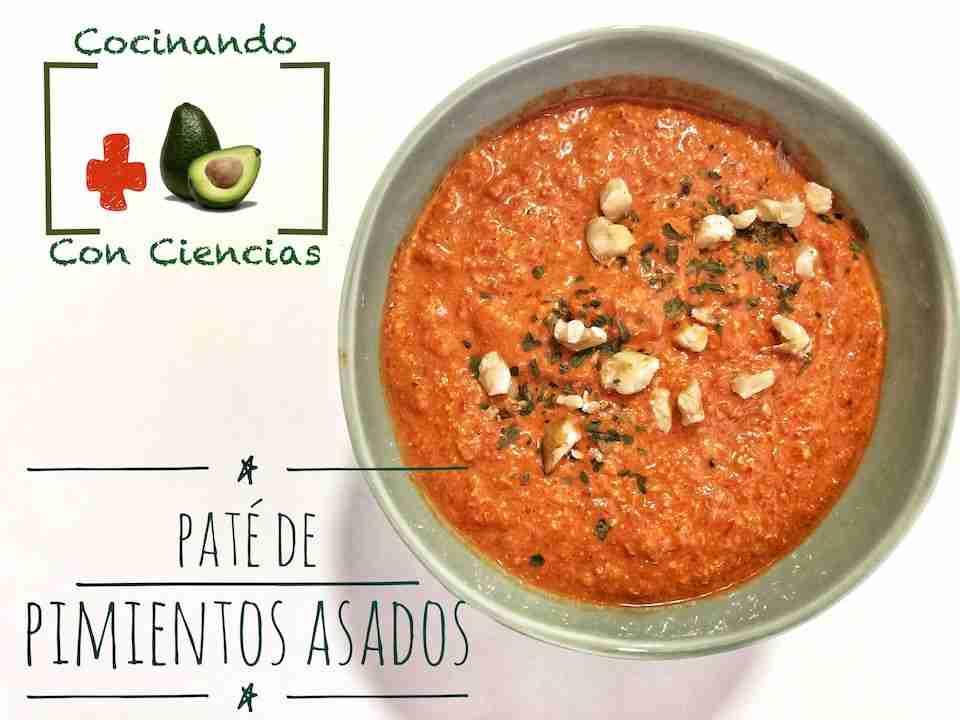 Vídeo-receta: Paté de pimientos y nueces