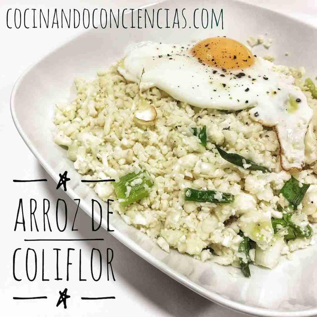 Vídeo-receta: arroz de coliflor