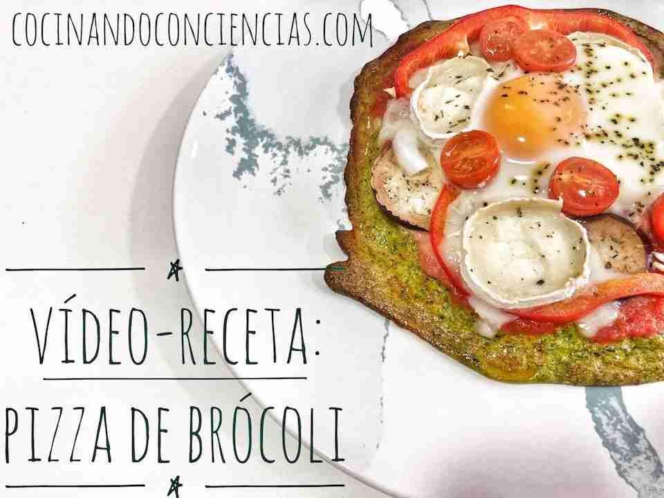 Vídeo-receta: Pizza de brócoli