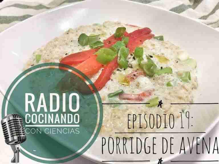 19. Porridge de avena