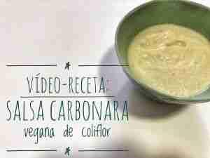 vídeo-receta: salsa carbonara vegana de coliflor