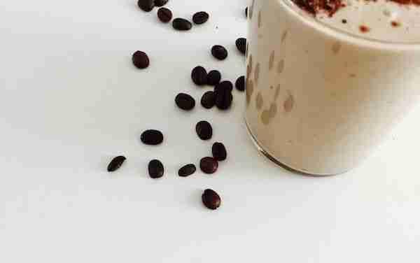 Batido de café con leche y chocolate