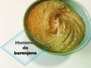 Hummus de berenjena y nueces