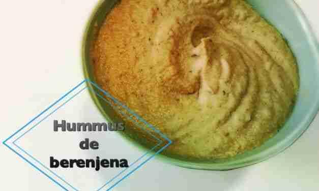Vídeo-receta: hummus de berenjena