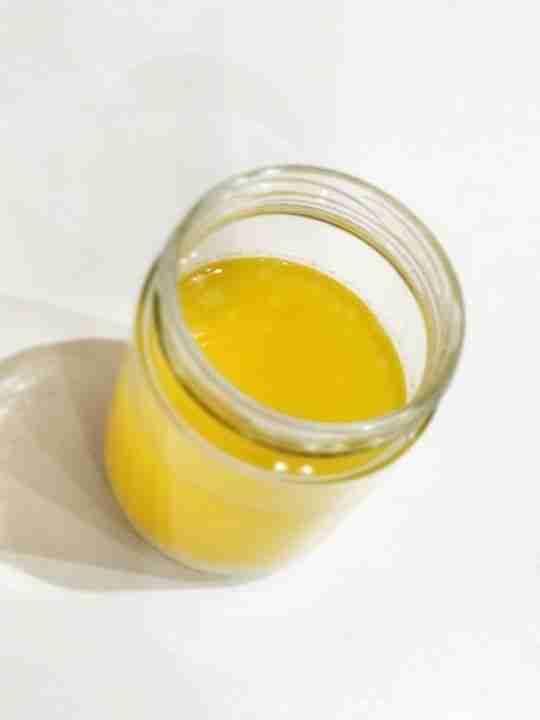 Mantequilla clarificada con Thermomix