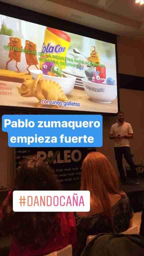 Pablo Zumaquero y el desayuno de los campeones
