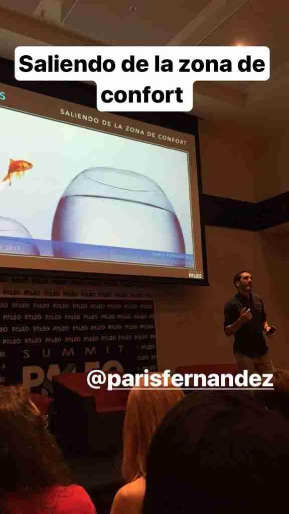 Paris Fernandez y su ponencia: hormesis to homeostasis