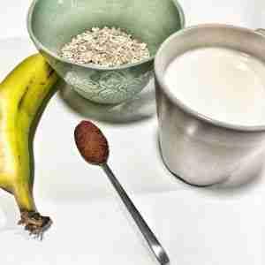 Desayuno saludable sencillo