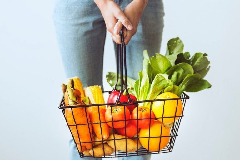 Menú saludable vegetariano