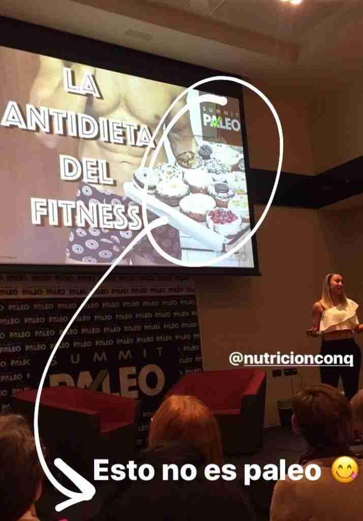 Paloma Quintana y la antidieta del fitness