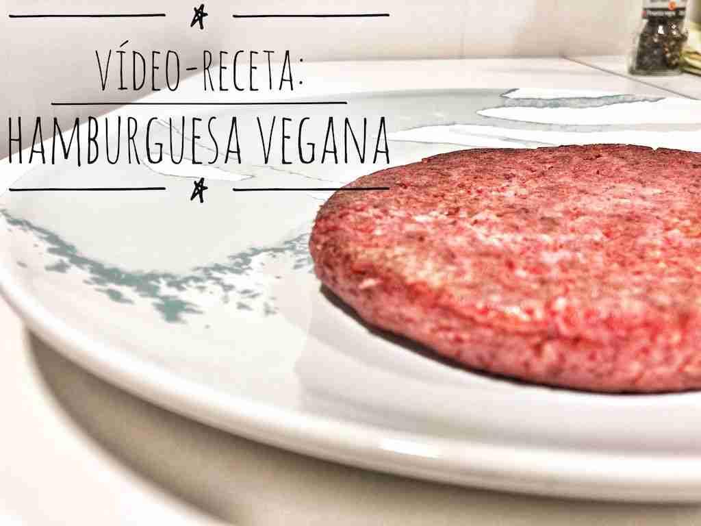 Vídeo-receta: Hamburguesa de alubias rojas